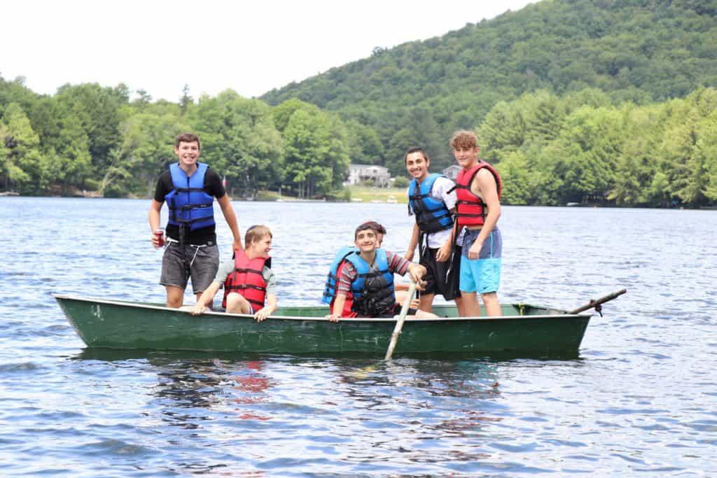 Rowboating